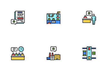 Industrial Process Icon Pack