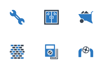 Industrian & Construction Icon Pack