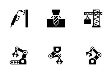 Industry And Manufacture Icon Pack