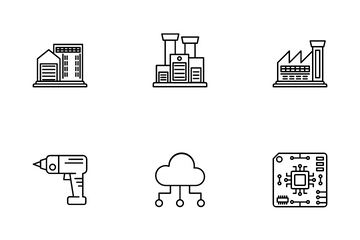 Industry And Work Icon Pack