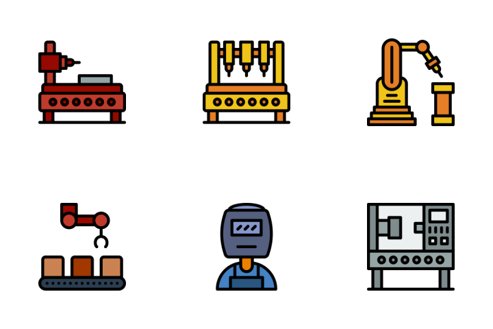 Industry - Retro Icon Pack