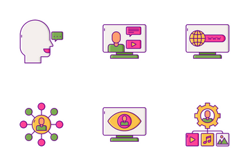 Influence Marketing Icon Pack