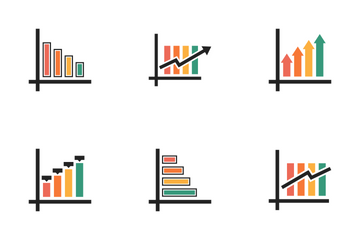 Infographic Bar & Growth Vol 7 Icon Pack