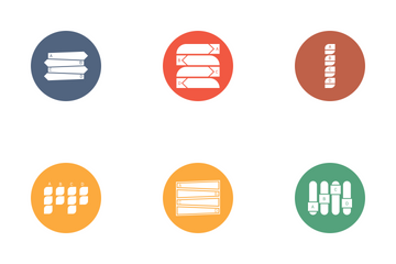Infographic Bar & Pie Chart Vol 1 Icon Pack