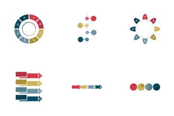Infographic Bar & Pie Chart Vol 2 Icon Pack