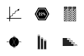 Infographic Bar Vol 2 Icon Pack