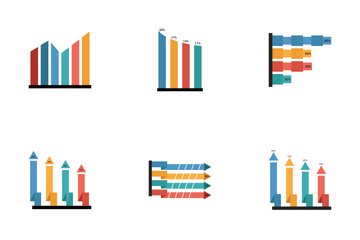 Infographic Bar Vol 4 Icon Pack