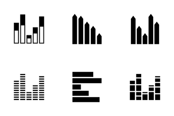 Infographic Bar Vol 6 Icon Pack