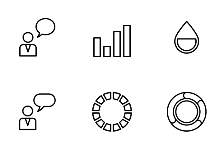 Infographic  Elements Vol 1 Icon Pack