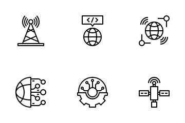 Information Technology Icon Pack