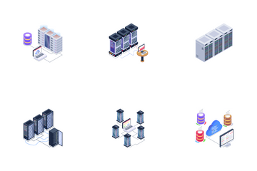 Infrastructure And Servers Icon Pack