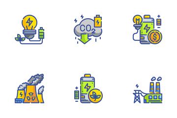Innovative Renewable Energy Icon Pack