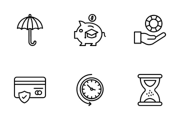 Insurance & Security Icon Pack