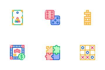 Interactive Kids Games Icon Pack