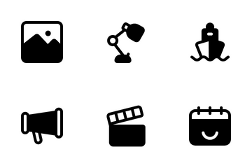 Interface Glyph 2 Icon Pack
