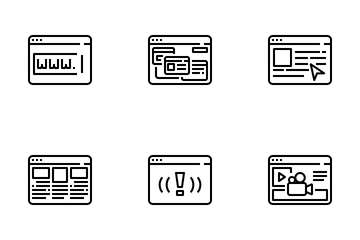 Interface Browser Icon Pack