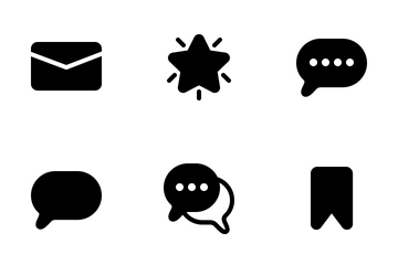 Interface Flat Icon Pack