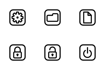 Interface Mobile Button Icon Pack