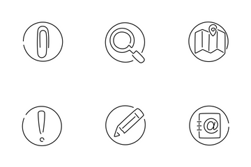 Interface (round) Icon Pack