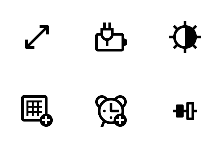 Interface Vol 2 Icon Pack