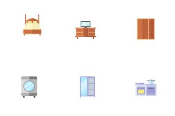 Interior And Fufniture Icon Pack
