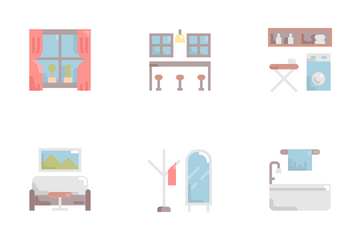Interior And Furniture Icon Pack