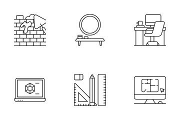 Interior Design Icon Pack