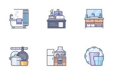 Interior & Homedecor Icon Pack