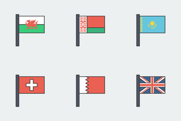 International Flags Icon Pack