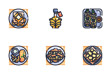 International Food Icon Pack