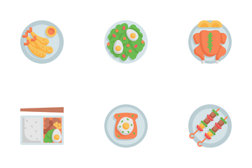 International Food Icon Pack