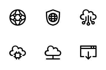 Internet And Network Icon Pack
