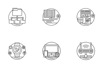 Internet And Networking Icon Pack