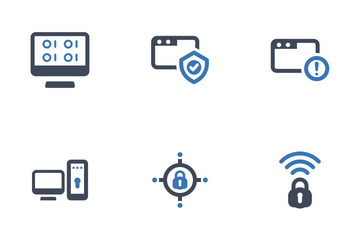 Internet And Security Icon Pack