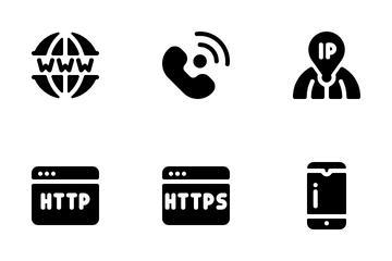 Internet And Technology Icon Pack