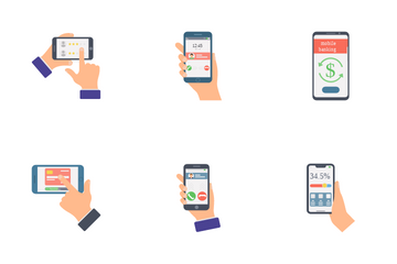 Internet Banking Icon Pack