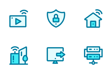 Internet Blue Icon Pack