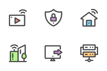Internet Color Icon Pack