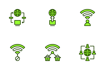 Internet Connectivity Icon Pack
