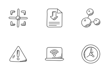 Internet Doodle Icons  Icon Pack