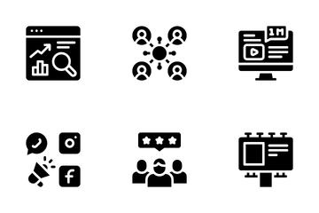 Internet Marketing Icon Pack