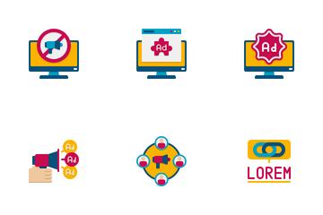Internet Marketing Service Icon Pack