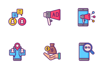 Internet Marketing Services Icon Pack