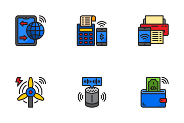 Internet Of Thing Icon Pack