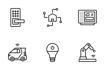 Internet Of Things Icon Pack