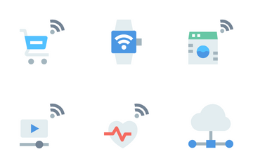 Internet Of Things - Basic Icon Pack