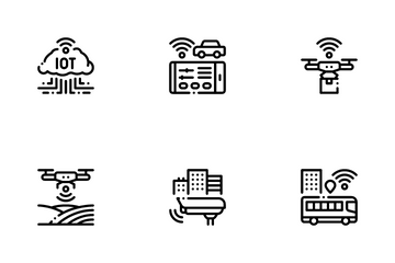 Internet Of Things IOT Icon Pack