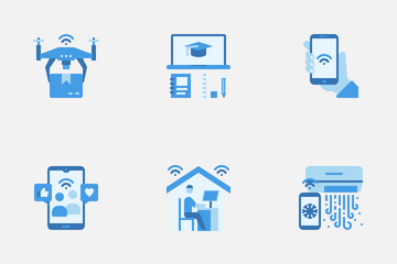 Internet Of Things (IOT) Icon Pack