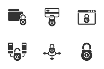 Internet Security Set 2 Icon Pack