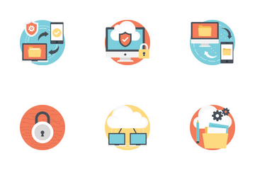Internet Technology And Security  Icon Pack